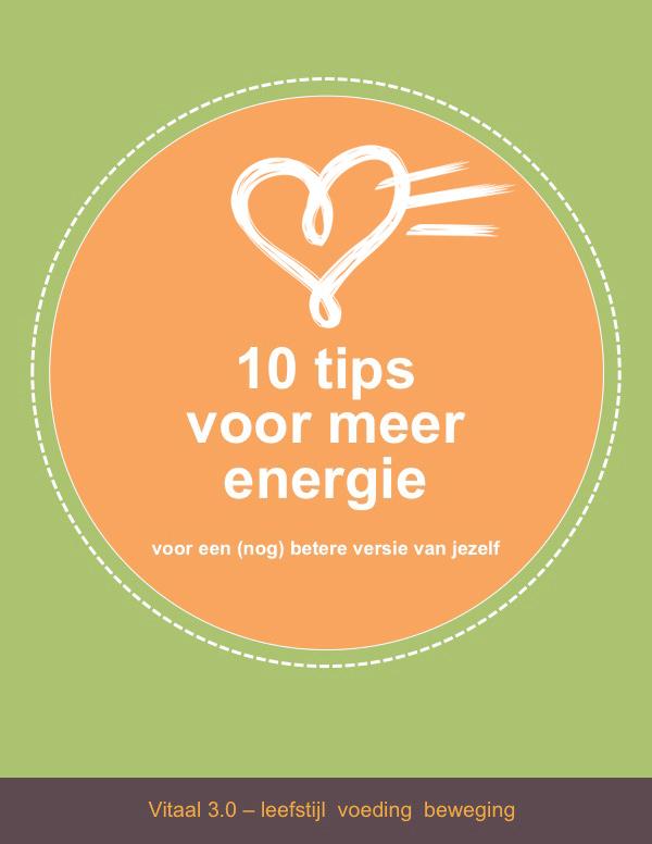 Download hier de10 tips voor meer energie